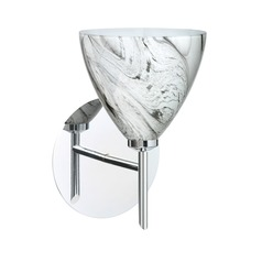 Besa Lighting Mia Chrome Sconce
