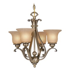 Monrovia Royal Bronze Mini-Chandelier by Vaxcel Lighting