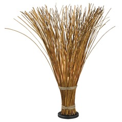 Floor Lamp in Natural Reed Finish