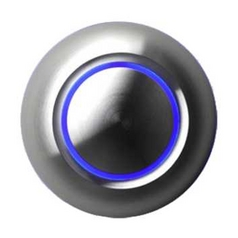Spore LED Illuminated Doorbell Button TDB-B-AL
