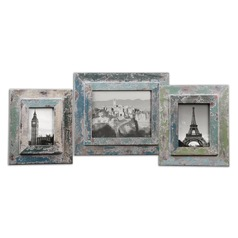 Uttermost Acheron Photo Frames, Set of 3