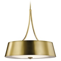 Kichler Lighting Maclain Pendant Light with Bowl / Dome Shade