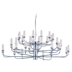 Candela LED Polished Chrome LED Chandelier