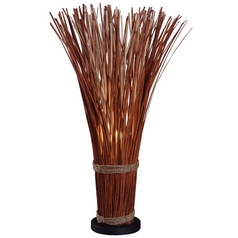 Table Lamp in Natural Reed Finish