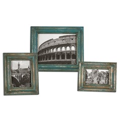 Uttermost Marlais Bronze Photo Frames Set of 3