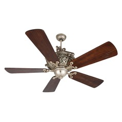 Craftmade Lighting Toscana Athenian Obol Ceiling Fan with Light