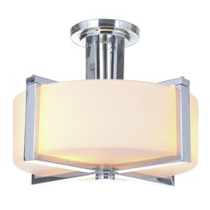 Craftmade Lighting Albany Chrome Semi-Flushmount Light