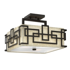 Semi-Flushmount Lights in Oil Rubbed Bronze Finish