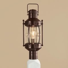 Norwell Lighting Seafarer Bronze Post Light