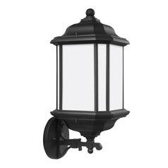 Sea Gull Lighting Kent Black LED Outdoor Wall Light