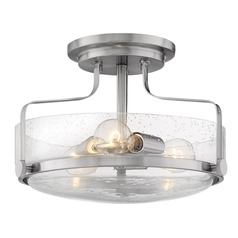 Hinkley Lighting Harper Brushed Nickel Semi-Flushmount Light
