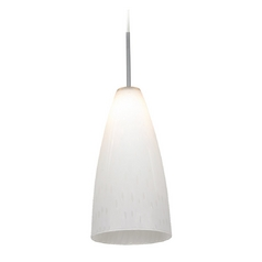 Sea Gull Lighting Mini-Pendant Light with White Glass 94765-6026