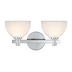Hudson Valley Lighting Mercury Polished Chrome Bathroom Light