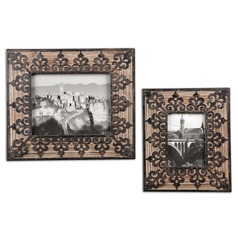 Uttermost Abelardo Photo Frames, Set of 2