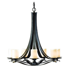 Hubbardton Forge Lighting Berceau Dark Smoke Chandelier