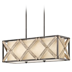 Kichler Lighting Cahoon Island Light with Rectangle Shade