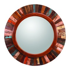 Round 36-Inch Decorative Mirror by Kenroy Home