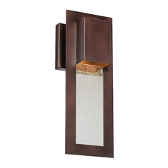 Modern Outdoor Wall Light in Bronze