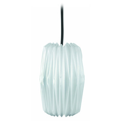 Lite Source Lighting Chrome Mini-Pendant Light with Cylindrical Shade