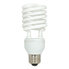 Compact Fluorescent T2 Light Bulb Medium Base 5000K