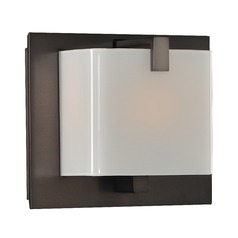 Kalco Lighting Meridian Brushed Black Nickel Bathroom Light
