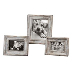 Uttermost Niho Ivory Photo Frames Set of 3
