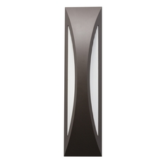 Kichler Lighting Kichler Lighting Cesya Architectural Bronze LED Outdoor Wall Light 49437AZ