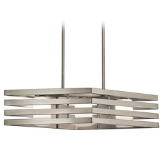 Kichler Lighting Realta Island Light with Cylindrical Shade