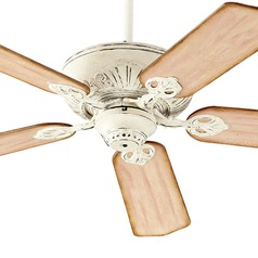 Quorum Lighting Chateaux Persian White Ceiling Fan Without Light