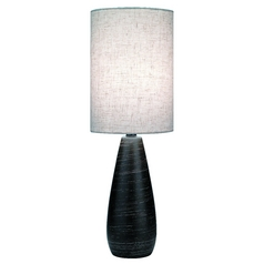 Lite Source Lighting Quatro Table Lamp with Cylindrical Shade