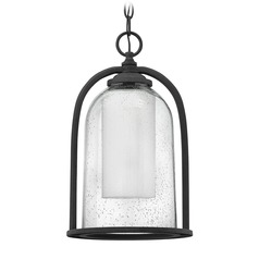 Hinkley Lighting Quincy Aged Zinc LED Outdoor Hanging Light