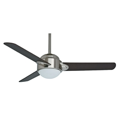 Casablanca Fan Trident Brushed Nickel Ceiling Fan with Light