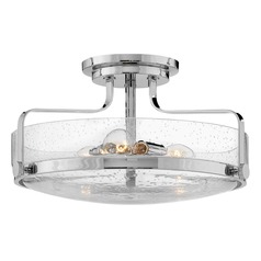 Hinkley Lighting Harper Chrome Semi-Flushmount Light