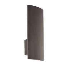 Modern Sconce Wall Light in Rubbed Bronze Finish