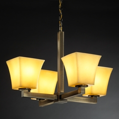 Justice Design Group Candlearia Collection Chandelier