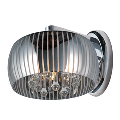 Sense II Polished Chrome Sconce