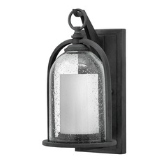 Hinkley Lighting Quincy Aged Zinc LED Outdoor Wall Light