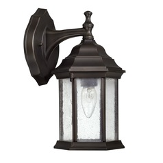 Capital Lighting Main Street Old Bronze Outdoor Wall Light