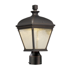 Outdoor Post Lantern in Oil Rubbed Bronze Finish