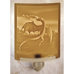 Porcelain Garden Lighting Flight of the Dragon Night Light NR144