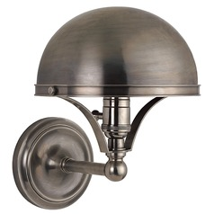 Covington 1 Light Sconce - Historic Nickel