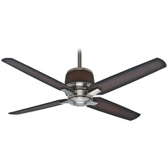 Casablanca Fan Aris Brushed Nickel Ceiling Fan Without Light