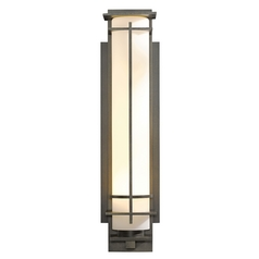 Hubbardton Forge Lighting After Hours Dark Smoke Outdoor Wall Light