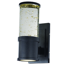 Maxim Lighting Pillar Galaxy Black LED Outdoor Wall Light