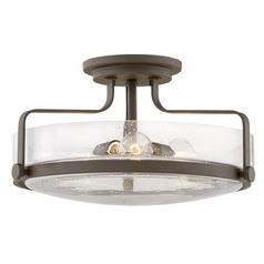 Hinkley Lighting Harper Oil Rubbed Bronze Semi-Flushmount Light
