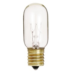 Incandescent T8 Light Bulb Intermediate Base 130V by Satco