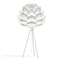 Vita Copenhagen White Table Lamp with Abstract Shade