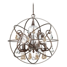 Pendant Light in English Bronze Finish