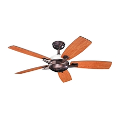 Kichler Lighting Kichler Lighting Brinbourne Oil Brushed Bronze Ceiling Fan with Light 300262OBB