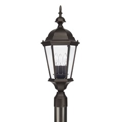 Capital Lighting Carriage House Old Bronze Post Light